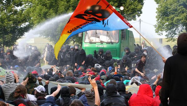 G8 protest - Sputnik Polska