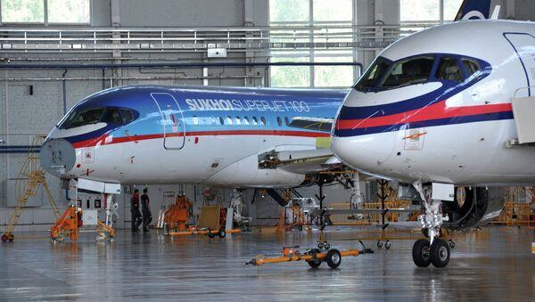 Samolot Suchoj Superjet 100 - Sputnik Polska