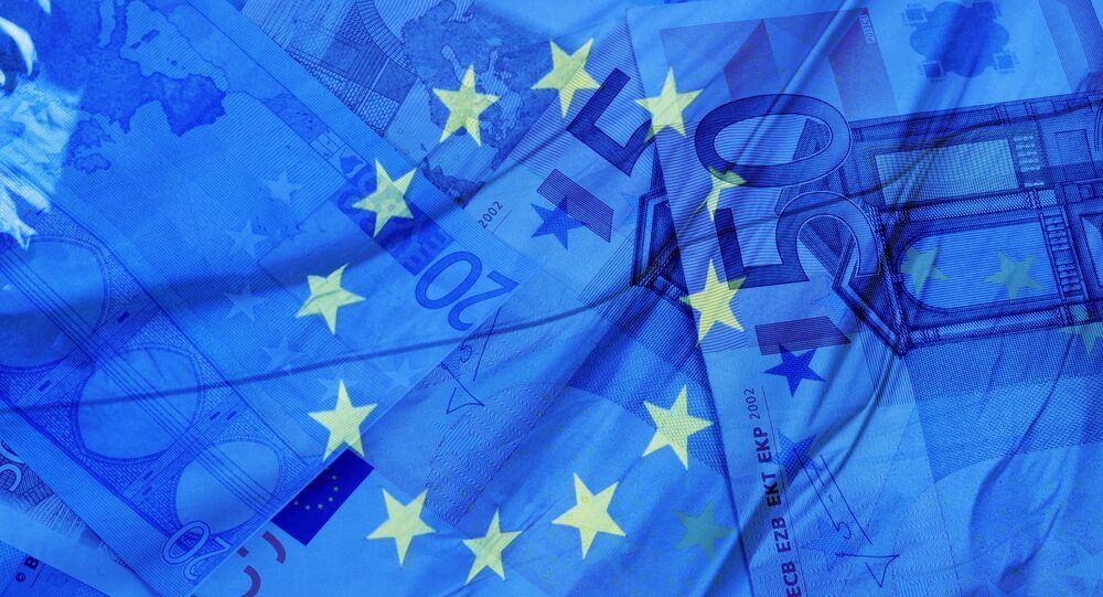 Flaga i waluta UE
