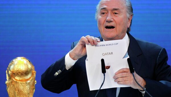 Prezydent FIFA  Sepp Blatter - Sputnik Polska