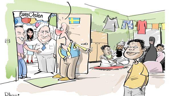 Szwecja gości cały świat - Sputnik Polska