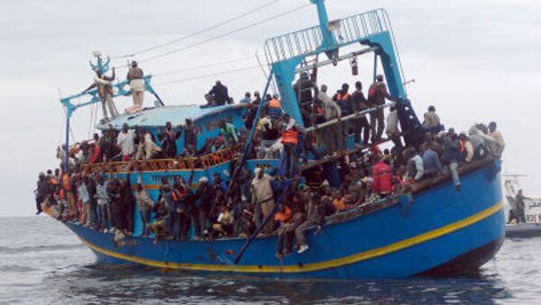 Imigranci z Afryki - Sputnik Polska