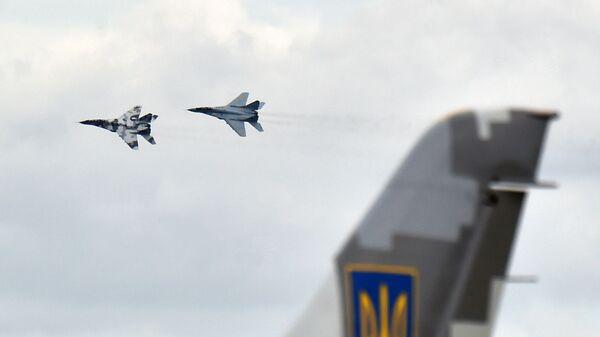 Ukraińskie myśliwce MiG-29  - Sputnik Polska