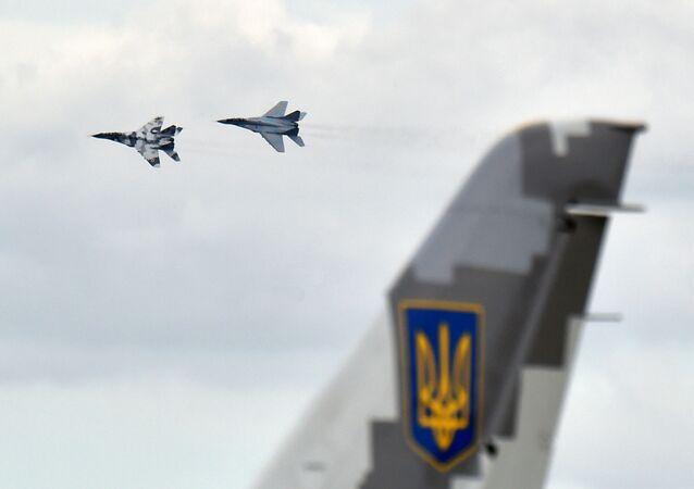 Ukraińskie myśliwce MiG-29