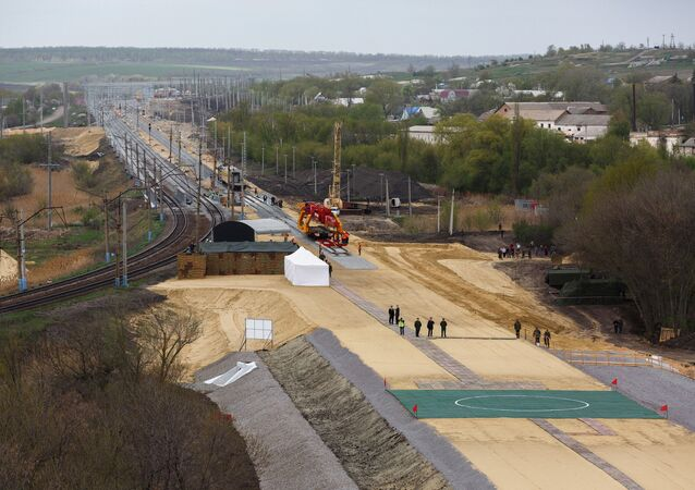 Budowa drogi kolejowej w obwodzie woroneskim