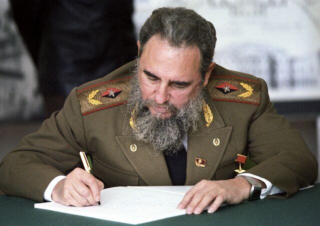 Fidel Castro zmarł w wieku 90 lat w piątek wieczorem o godz. 22.29 czasu lokalnego