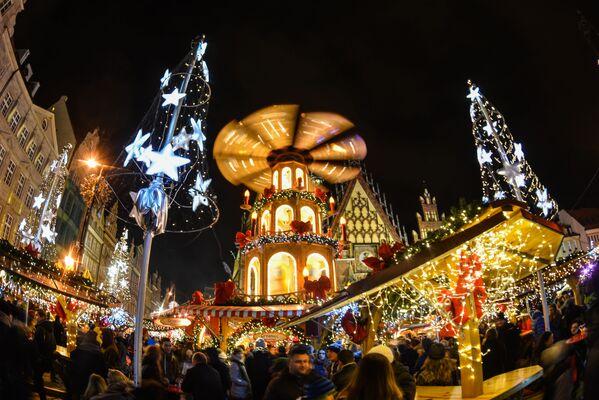 Jarmark Bożonarodzeniowy we Wrocławiu - Sputnik Polska