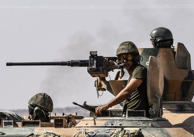 Tureckie wojska w Syrii