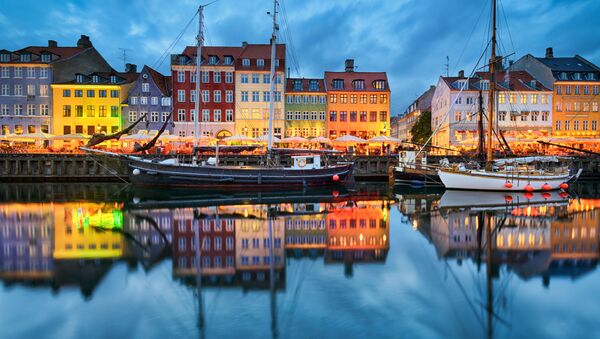 Kopenhaga wieczorem - Sputnik Polska