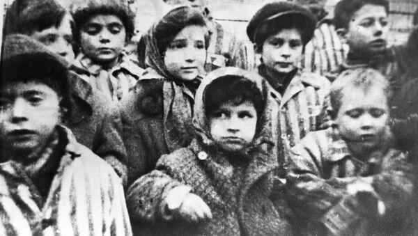Dzieci Auschwitz-Birkenau - Sputnik Polska