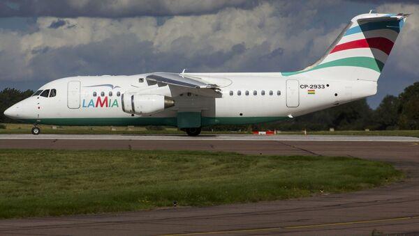 Samolot Avro RJ85 linii lotniczych Lamia - Sputnik Polska