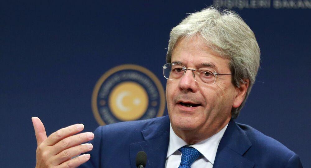 Szef MSZ Włoch Paolo Gentiloni