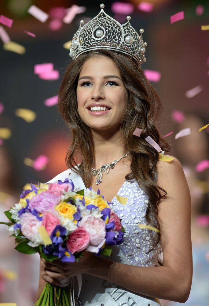 """Posiadaczka tytułu """"Miss Rosji 2016"""" Jana Dobrowolskaja"""