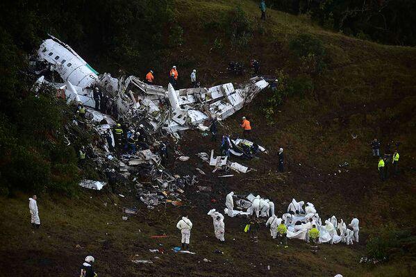 We wtorek w Kolumbii rozbił się samolot. - Sputnik Polska