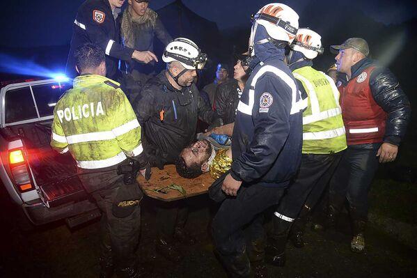 Na pokładzie samolotu znajdowało się 72 pasażerów i 9 członków załogi. - Sputnik Polska