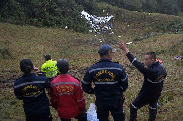 Według administracji lotniska Medellin, na które leciał samolot, załoga powiadomiła o nadzwyczajnej sytuacji o godzinie 22:00 czasu lokalnego (6:00 czasu moskiewskiego we wtorek). - Sputnik Polska