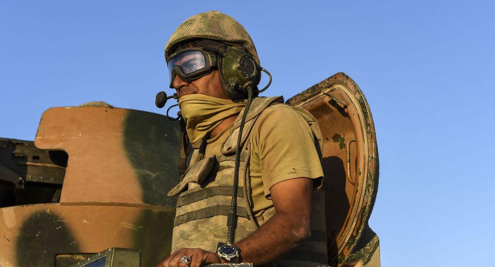 """24 sierpnia turecka armia rozpoczęła operację o kryptonimie """"Tarcza Eufratu."""