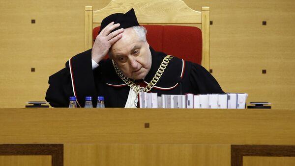 Prezes Trybunału Konstytucyjnego Andrzej Rzepliński - Sputnik Polska