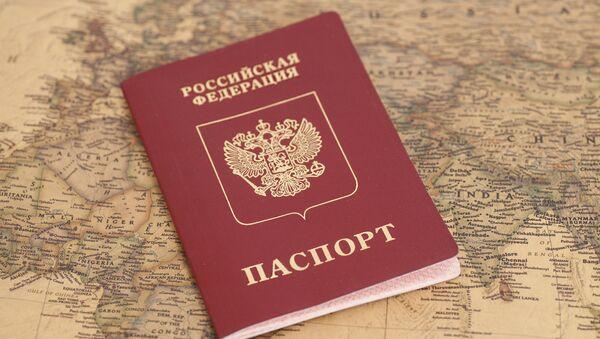Rosyjski paszport - Sputnik Polska