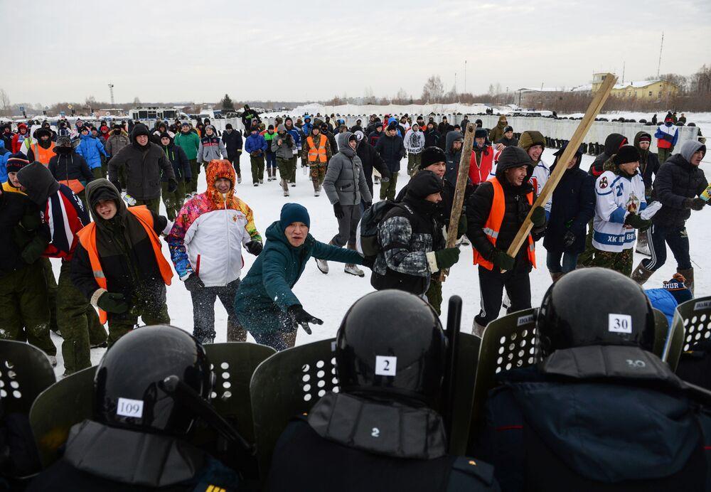 Ćwiczenia odbyły się na terenie lotniska miejskiego Siewiernyj w Nowosybirsku.