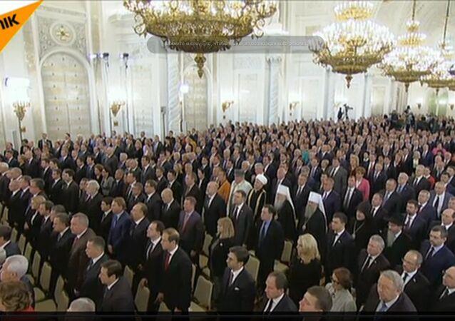 Orędzie Władimira Putina dobiegło końca