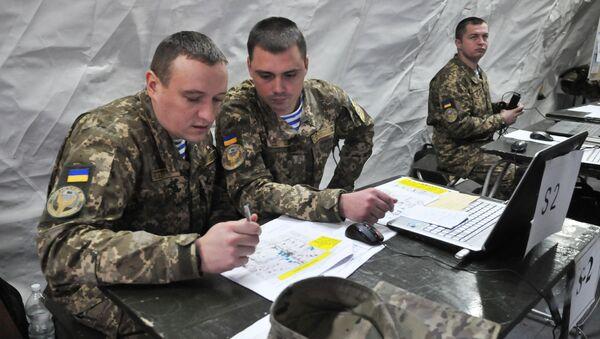 Ukraińscy wojskowi przeprowadzą w piątek kilka startów pocisków rakietowych, a lotnictwo przećwiczy ataki na cele powietrzne w ramach manewrów na południu kraju - Sputnik Polska