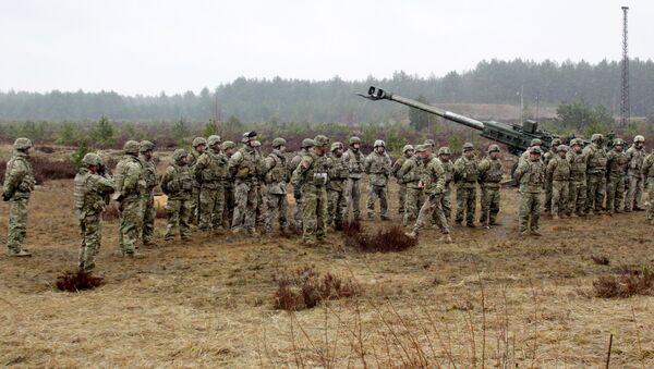 Ćwiczenia NATO Operation Summer Shield na Łotwie - Sputnik Polska