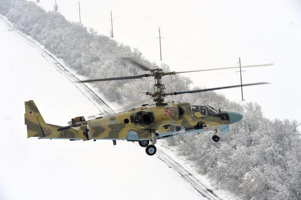 Loty testowe śmigłowca Ka-52 Aligator - Sputnik Polska