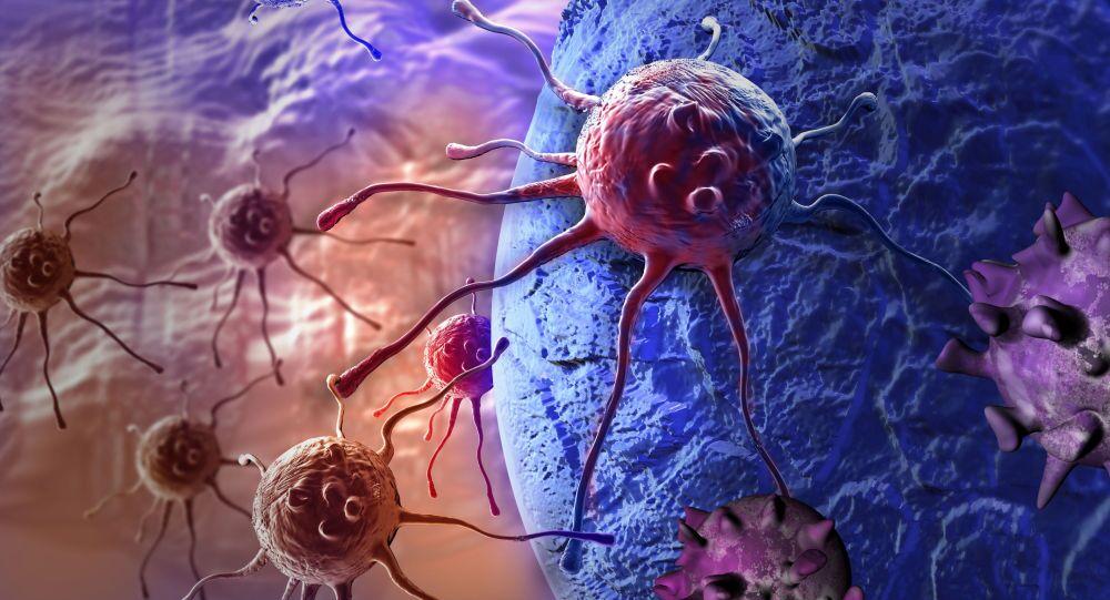 Komórki rakowe atakują organizm