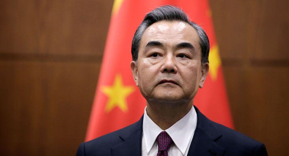 Szef MSZ Chin Wang Yi