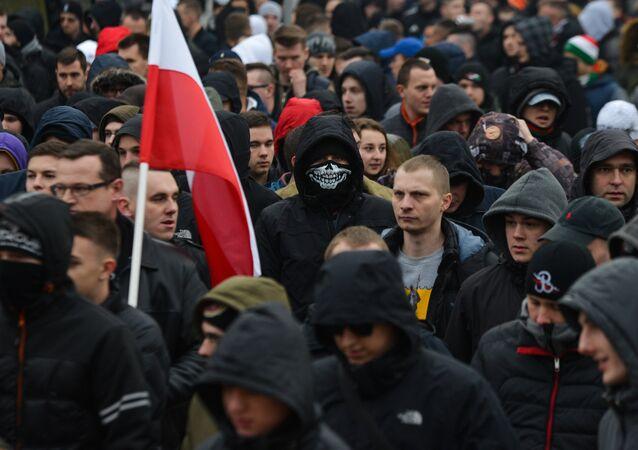 Akcja protestacyjna przeciwko islamizacji Europy