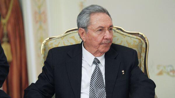 Prezydent Kuby Raul Castro - Sputnik Polska