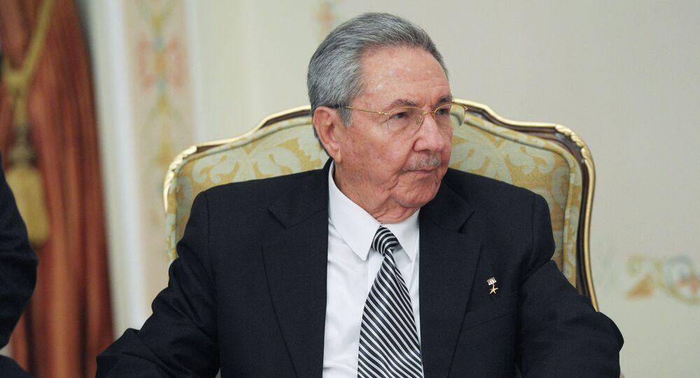 Prezydent Kuby Raul Castro
