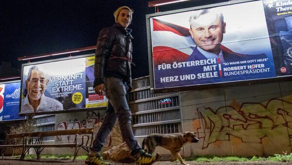 W Austrii w niedzielę rozpoczęła się druga tura wyborów prezydenckich - Sputnik Polska