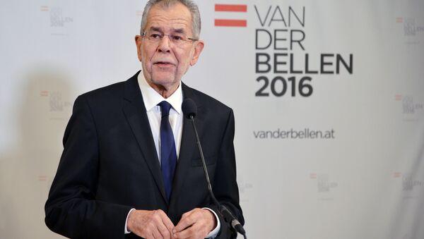 Jak wynika z pierwszych ocen wyników niedzielnych wyborów prezydenckich w Austrii, zwyciężył Alexander Van der Bellen - Sputnik Polska