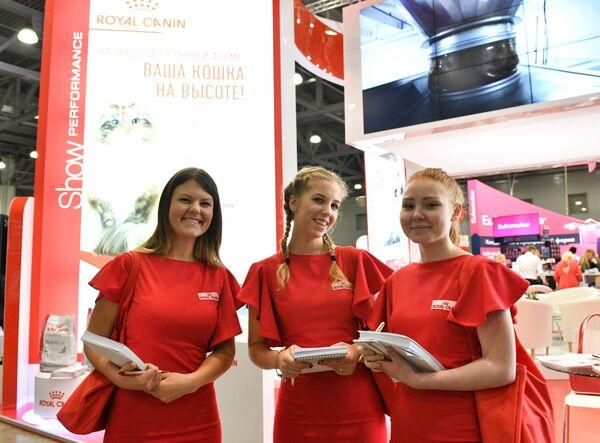 """Wystawa """"Grand Prix Royal Canin"""" uznawana jest za największą na świecie, w tym roku udział w niej wzięło ponad 1500 uczestników i około 40 tysięcy odwiedzających. - Sputnik Polska"""