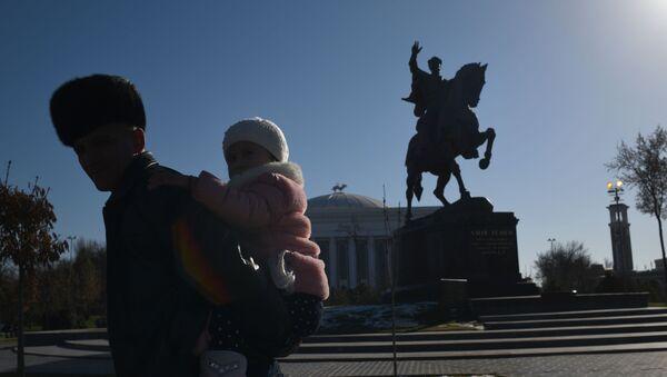 Pomnik Tamerlana w Taszkiencie. - Sputnik Polska