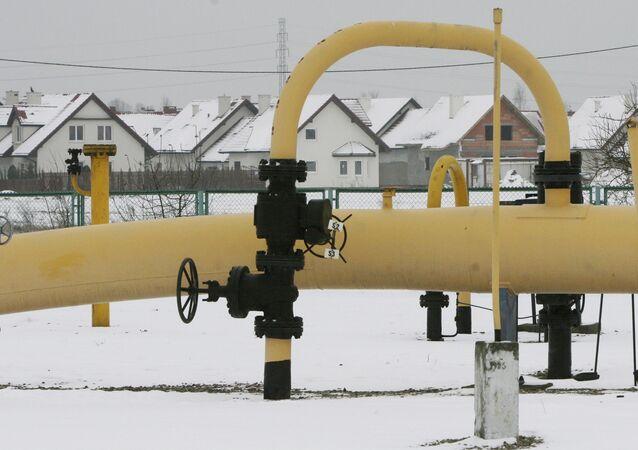 Pompownia gazu pod Warszawą