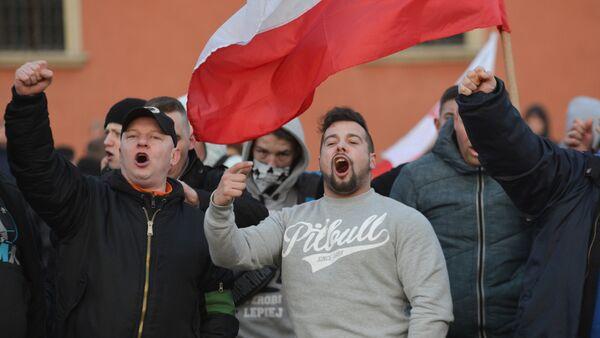 Akcja przeciwko islamizacji Europy w Polsce - Sputnik Polska