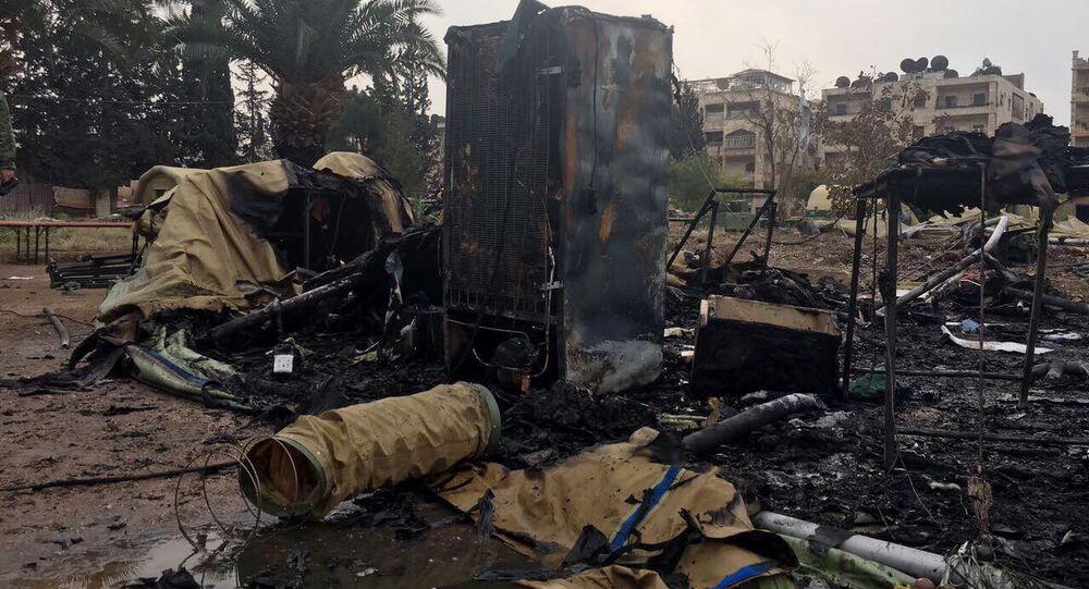 Ostrzał szpitala mobilnego rosyjskiego Ministerstwa Obrony w Aleppo