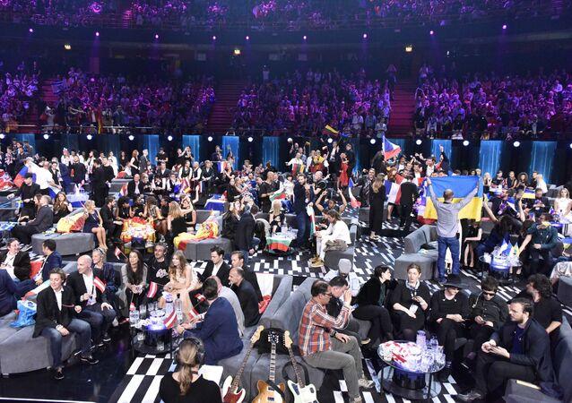 Głosowanie podczas finału Eurowizji w Sztokholmie, Szwecja