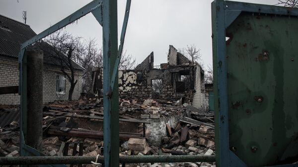 Wojna w Donbasie - Sputnik Polska