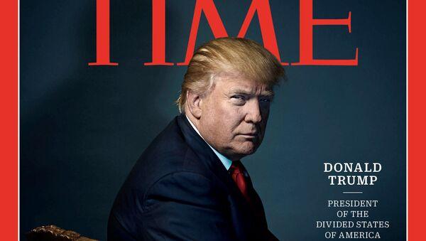 Donald Trump, Time, 2016 - Sputnik Polska