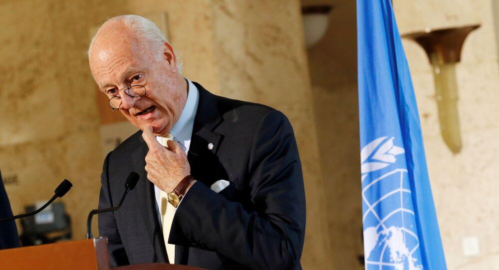 Specjalny wysłannik ONZ w Syrii Staffan de Mistura