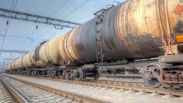 Pociąg towarowy - Sputnik Polska