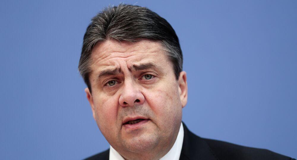 Wicekanclerz Niemiec, minister gospodarki i technologii, lider Socjaldemokratycznej Partii Niemiec Sigmar Gabriel