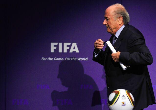 Przewodniczący FIFA Sepp Blatter