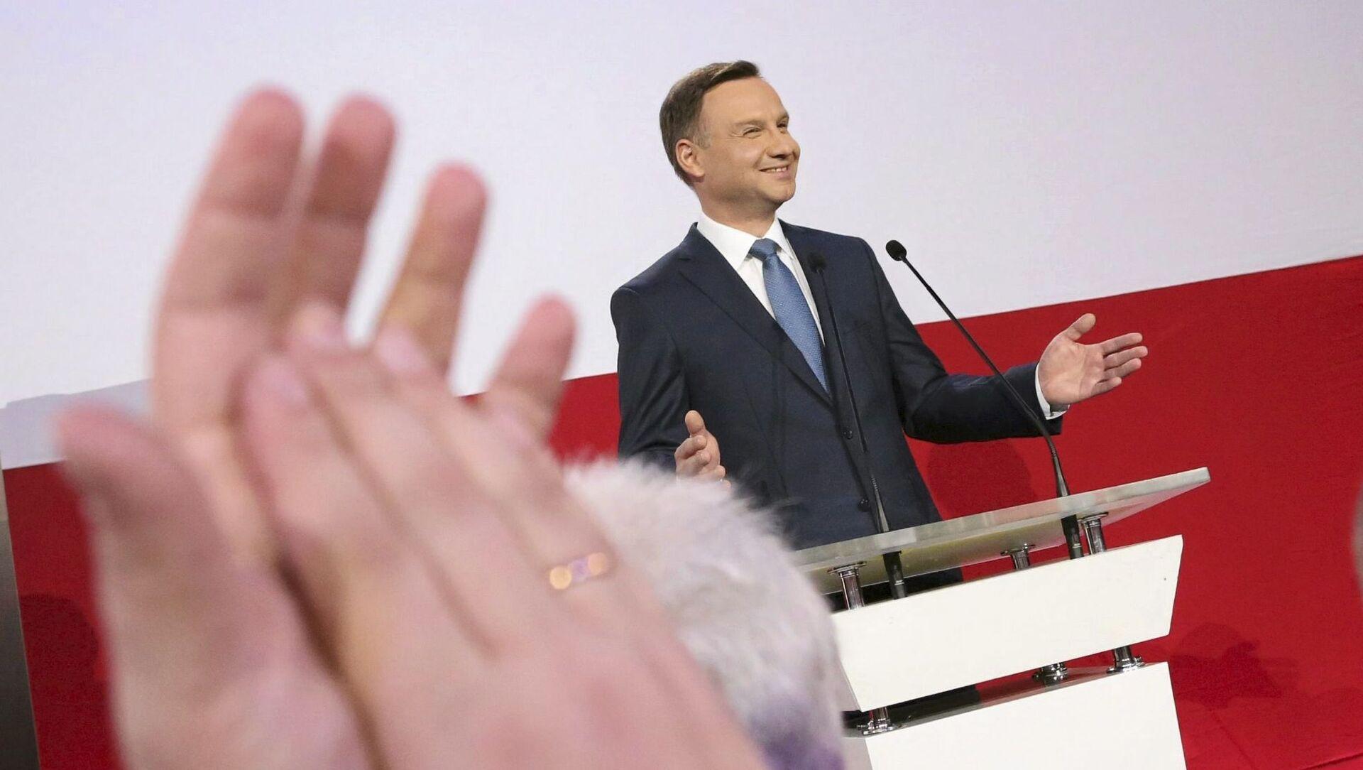 Prezydent elekt RP Andrzej Duda - Sputnik Polska, 1920, 17.05.2021