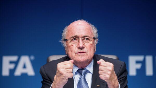 Przewodniczący FIFA Sepp Blatter - Sputnik Polska
