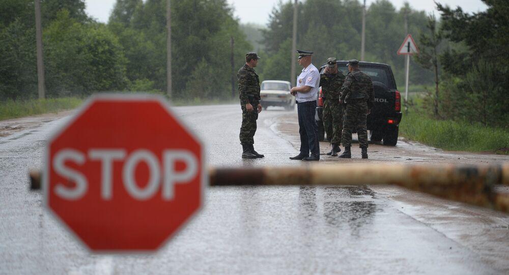 Rosja, obwód Twerski: policja sprawdza dokumenty